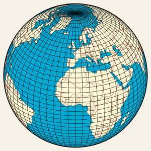 Earth's Grid - Latitude and Longitude - Wikipedia Commons