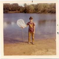 Gene, age 12, at Rolling Meadows Park