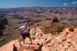 Gene Hanson on the South Kaibab Trail