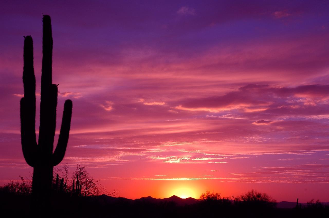 Arizona Sunset & Arizona Sunrise Pictures